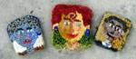 Grandma, Lucy and Barack pins, Susan L. Feller