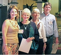 Ex Director Sally Barton; Carter Taylor Seaton, Susan L. Feller and Paul Corbit Brown