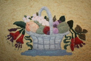 Fruit and Flowers, Mary Jane Peabody (pattern by Jacquelyn Hansen)
