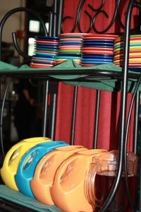 Fiestaware at SoHo