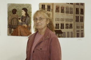 Roslyn Logsdon curator of Hooked Images