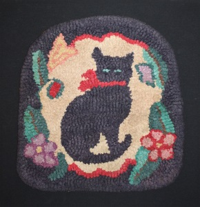Sandy Elliott Country Antiques - cat chair pad